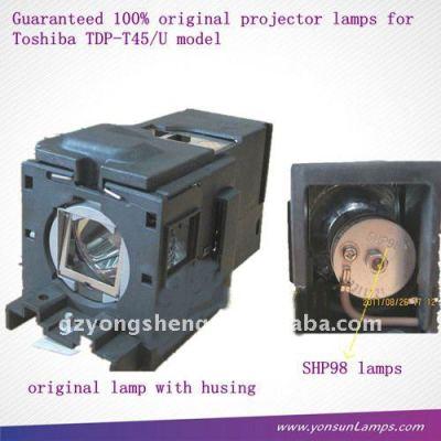 tlp-lv8 توشيبا مصباح ضوئي وبروجكتور tdp-t45