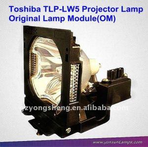 Toshiba lampade per proiettori tlp-lw5& lampadina con alloggiamento per tlp-s80/u