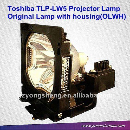 Original toshiba tlp-lw5 projektorlampe