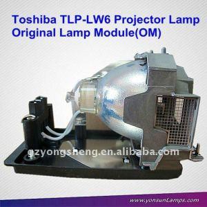 Per toshiba tlp-lw6 lampada del proiettore