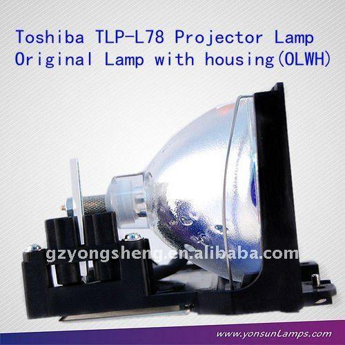 Toshiba tlp-l78 projektorlampe mit käfig/Gehäuse für projektor tlp-380