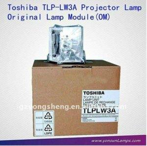 Lampe de projecteur toshiba tlp-lw3a, toshiba projecteur ampoule tlp-lw3a