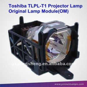 Original lampe des projektors modul für toshiba tlpl- t1 projektorlampe
