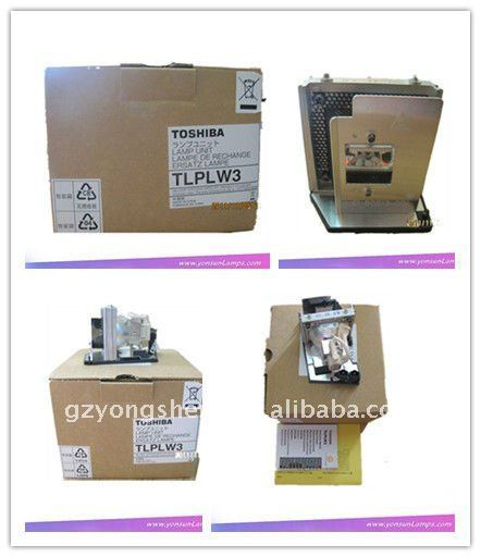Original toshiba projektor lampen-modul tlplw3
