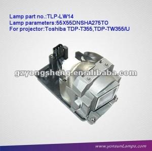 Lampade per proiettori& lampadina con toshiba alloggiamento per tlp-lw14 tdp-355