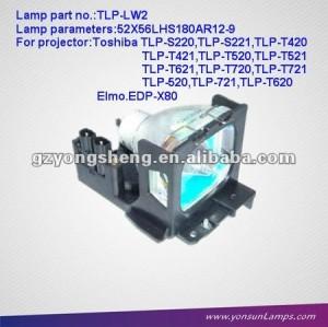 Lampada di proiezione tlp-lw2 ( om ) per proiettore toshiba tlp-s220