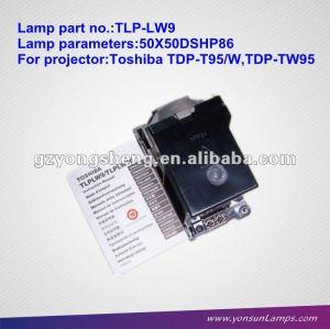 Tlp-lw9 lampada del proiettore per toshiba tdp-tw95
