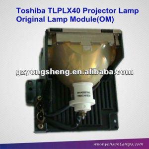 original toshiba tlp x4100e tlplx40 projektor lampe für projektor