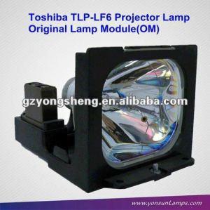 Original toshiba tlp-lf6 lampe modul für tlp-970f/tlp-971f projektor