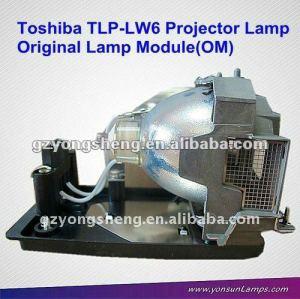 Originale proiettore lampadine per tlp-lw6 tdp-t250u/tdp-tw300u proiettore