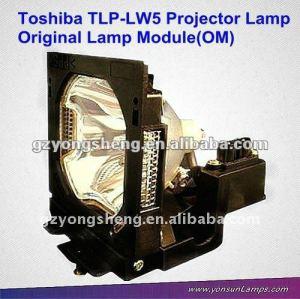 Projektor lampen toshiba tlp-lw5& lampe mit gehäuse für tlp-s80/u