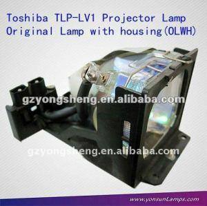 Toshiba lampade per proiettori tlp-lv1 con alloggiamento per tlp-s30/m/mu/u proiettore