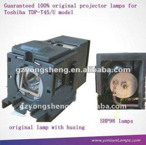 Shp98 lampada del proiettore tlp-lv8 per proiettore toshiba tdp-t45/u