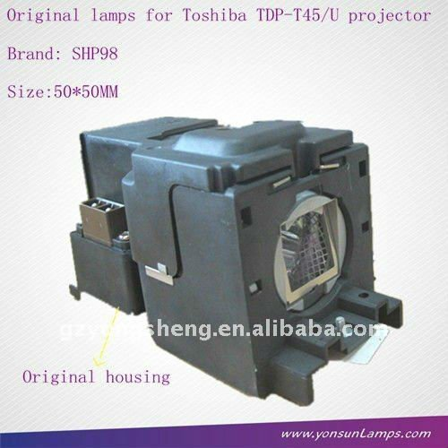 Lampe TLP-LV8 des Projektors shp98 für Toshiba-Projektor TDP-T45/U