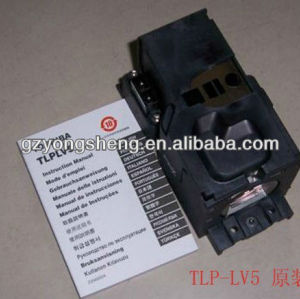 Tlp-lv5 lampada del proiettore per toshiba con prestazione stabile