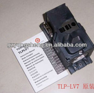 Tlp-lv7 lampada del proiettore per toshiba con qualità eccellente