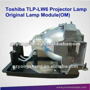 Tlp-lw6 lampada del proiettore per toshiba con prestazione stabile