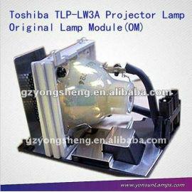 Tlp-lw3a lámpara del proyector de toshiba con un rendimiento estable