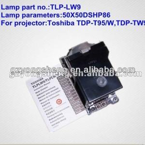 Lampe projektor toshiba tlp-lw9 mit hervorragender leistung