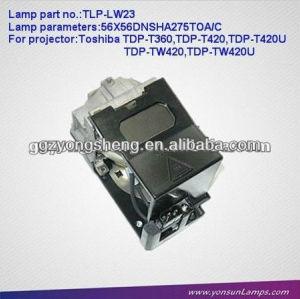 Tlp-lw23 projektorlampe für toshiba mit stabilen Leistung