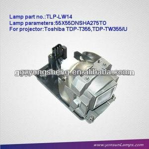 Tlp-lw14 lampada del proiettore per toshiba con prestazione stabile