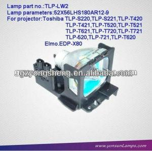 Tlp-lw2 lampada del proiettore per toshiba con qualità eccellente