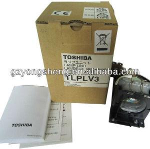 Tlp-lv3 toshiba lampada del proiettore per toshiba tlp-s10 in forma