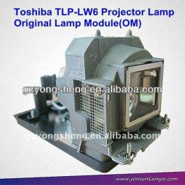 Original projector lamp TLP-LW6 for toshiba TDP-T250U/TDP-TW300U projector