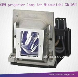 VLT-SD105LP mercury lamp for Mitsubishi MD105S projector lamp
