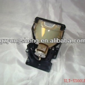 Original projector lamp VLT-X500LP for Mitsubishi S490U/S490U