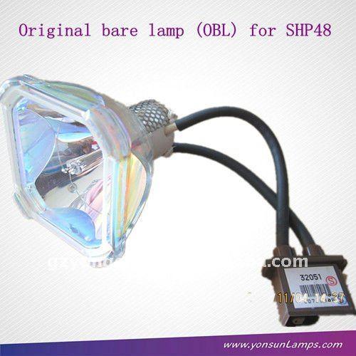 Vlt-x70lp lampada nuda per x70u mitsubishi lampada del proiettore