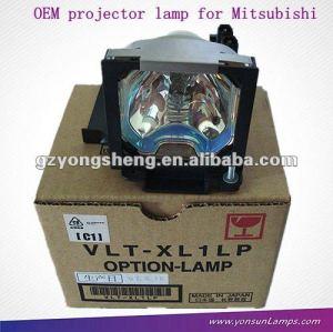Per mitsubishi sl1u vlt-xl1lp lampada del proiettore