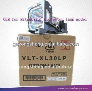 Vlt-xl30lp lampada del proiettore per mitsubishi con prestazione stabile