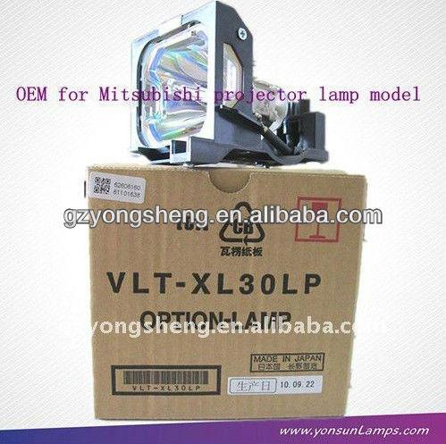 Projektor lampe für mitsubishi vlt-xl30lp mit stabile performance