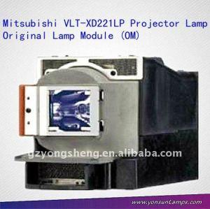 Vlt-xd221lp mitsubishi lampada del proiettore per mitsubishi gs312, gx318 proiettore