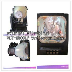 For compatible Mitsubishi VLT-X500LP projector lamps