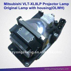 Oem lampada del proiettore per mitsubishi vlt-xl8lp