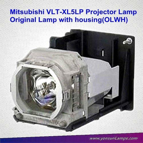 Für mitsubishi vlt-xl5lp original projektor lampe mit gehäuse