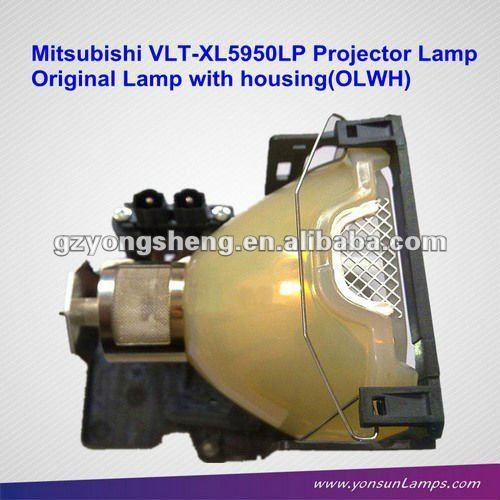 Für mitsubishi vlt-xl5950lp projektorlampe, original lampe mit gehäuse