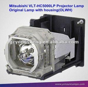 Per la lampada originale del Mitsubishi VLT-HC5000LP con la lampada del proiettore dell'alloggiamento