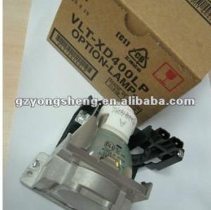 Mitsubishi vlt-xd400lp lampada del proiettore