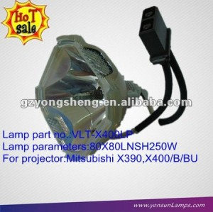 Mitsubishi x400u opzione lampada lampada del proiettore vlt-x400lp