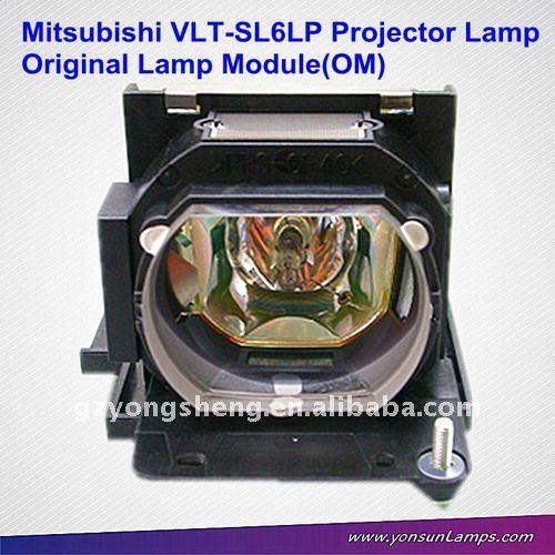 Oem mitsubishi lampada del proiettore per sl6u vlt-sl6lp, xl9u, lx390 mitsubishi proiettore