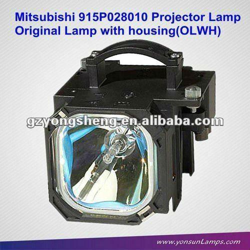 Tv projektor lampe mit gehäuse für mitsubishi wd-52526 915p028010
