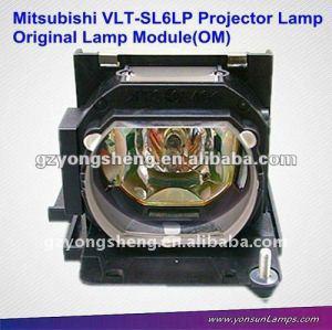 Original projektor lampen projektor vlt-sl6lp für mitsubishi