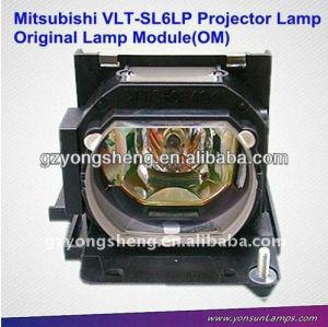 Vlt-sl6lp lampada del proiettore per mitsubishi con qualità eccellente