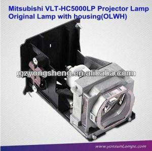 Lampada vlt-hc5000lpprojector per mitsubishi con qualità eccellente