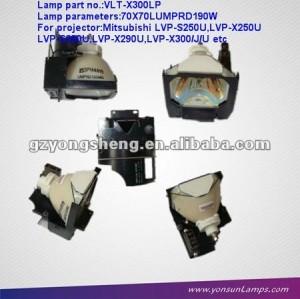 Originale lampada del proiettore vlt-x300lp per mitsubishi proiettore