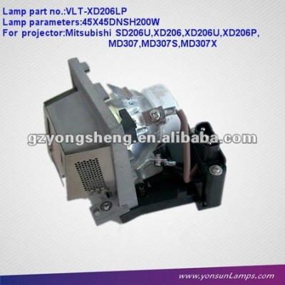 Kompatiblen projektor lampe mit gehäuse für projektor lvp-sd206 vlt-xd206lp