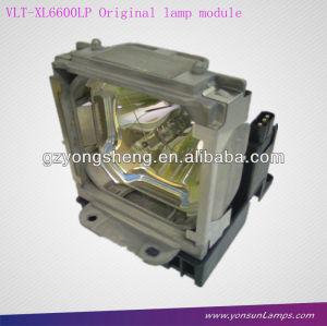 Mitsubishi vlt-xl6600lp lampada del proiettore per mitsubishi xl6600lu